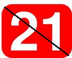 21 + days